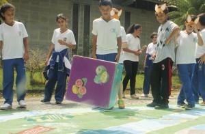 Jogos ambientais em ambiente externo