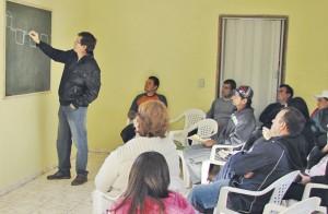 Apresentação do sistema às comunidades rurais