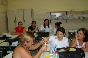 Oca para professores utilizarem kits de educação ambiental