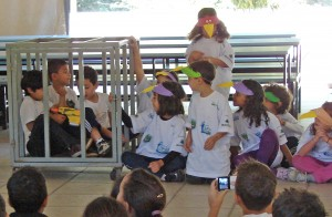 Conexão ONG Mirim de Jundiaí apresentando peça teatral